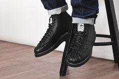 check out 4595b f8845 NEIGHBORHOOD x adidas Originals Shell-Toe Boots
