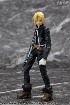 AmiAmi [Character & Hobby Shop] | Play Arts Kai - Fullmetal Alchemist: Edward Elric Action Figure