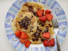 {dark chocolate chip coconut pancakes} This Muslim Girl Bakes: May Food + Favourites! Coconut Pancakes, Griddle Cakes, Mille Crepe, Dark Chocolate Chips, Crepes, Muslim, Dutch, Waffles, Breakfast Recipes