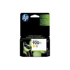 Cartucho original HP Nº 920XL (CD974AE) Tinta Amarilla Rendimiento: 700 páginas