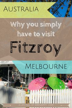 Why you have to visit Melbourne's Fitzroy (Brunswick Street). It's probably one of the trendiest suburbs I have ever visited. You so should visit too!