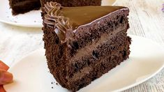 Chocolate Lovers, Chocolate Recipes, Chocolate Cake, Chocolates, Cheesecake Cake, No Bake Cake, Amazing Cakes, Truffles, Cake Recipes