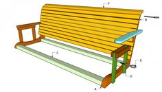 Free Porch Swing Plans | Free Outdoor Plans - DIY Shed, Wooden Playhouse, Bbq, Woodworking Projects