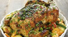 Receita de frango recheado - Bolsa de Mulher