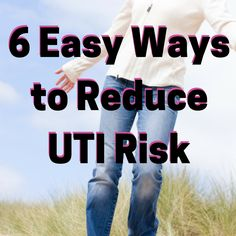 Easy tips for reducing your risk of a urinary tract infection. Urinary Tract Infection Treatment, Get Rid Of Uti, Prevent Uti, Cystitis, Menopause Symptoms, Alternative Treatments, How Do I Get, Natural Solutions