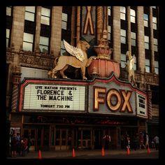 Fox Theatre, Detroit, MI