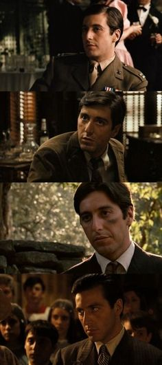 10 Movies With Al Pacino. Scenes from the movie The Godfather. Born on April in New York, USA, Al Pacino performed in more than 50 works throughout his life, beginning his career in the world of the seventh art … Movie List, Movie Stars, Movie Tv, Marlon Brando, The Godfather, Andy Garcia, Great Films, Good Movies, Martin Scorsese
