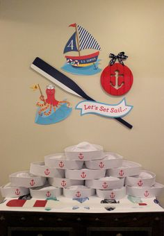 Anchor Ashore: Sawyer is Four! Birthday Party - Just Add Confetti