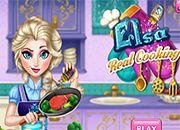 Frozen Elsa Real Cooking   juegos de besos - chicas amor jugar online