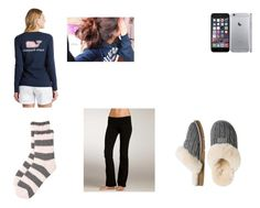 """""""Untitled #258"""" by leelee7699 ❤ liked on Polyvore featuring Free Press, UGG Australia, Vineyard Vines and Hard Tail"""
