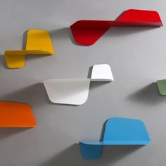 Flap Mensola http://memedesign.it/catalogo/flap/ See also: 13 Trendy Small Modular Wall Shelves http://vurni.com/small-modular-wall-shelves/