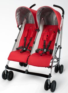 Uppababy G-link 2015.  Available Fall 2015.  Our favorite lightweight stroller now double the size.  :)
