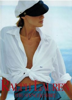 Old Ralph Lauren Adverts Polo Ralph Lauren, Ralph Lauren Style, 80s And 90s Fashion, Fashion Outfits, Mtv, Timeless Fashion, Vintage Fashion, Petite Fashion, Spencer Shirts