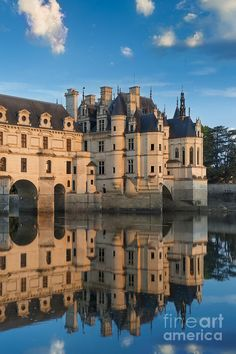 Chenonceau Morning II Photograph by Brian Jannsen