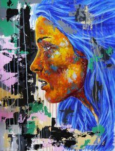 "Saatchi Art Artist Bazevian BAZEVIAN; Painting, ""Post Synthétique XVI"" #art"