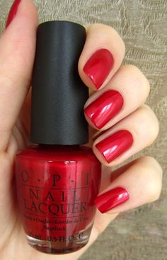 OPI Classics: An Affair In Red Square New color for me...can't wait to try it.