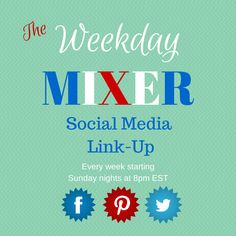 Sew Crafty Angel: The Weekday Mixer Social Media Link-Up @ Sew Craft...