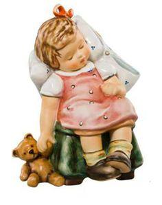 Hummel actueel | Hummel Traumerei / Sweet Nap | Peter's Hummel Home | De grootste collectie beeldjes | Hummel Disney Goebel Rosina Wachtmeis...