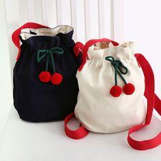 Sac Week End, Korean Products, Fabric Bags, Cute Bags, Cotton Bag, Handmade Bags, Bucket Bag, Diaper Bag, Shopping Bag