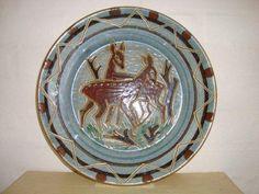 RAS fad/dish. År/year 1940-50s. #RAS #fad #dish #keramik #ceramics #pottery #danishdesign #nordicdesign #klitgaarden. SOLGT/SOLD from www.klitgaarden.net.
