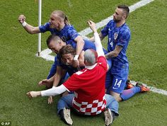 Croatia deservedly won their clash with Turkey thanks to a thunderous strike by Real Madrid star Luka Modric. Recap all the action by looking back at ANTHONY HAY'S live commentary blog.