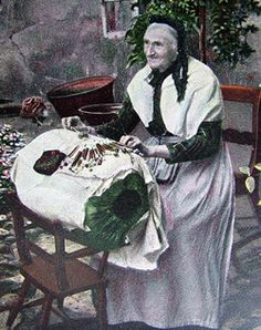 A Buckinghamshire lacemaker  (site with history of lace)