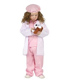 Another great find on #zulily! Pink Little Pet Vet Dress-Up Set - Infant & Toddler by Fun World #zulilyfinds