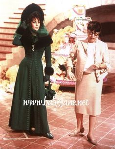 Natalie Wood with Edith Head on set of The Great Race