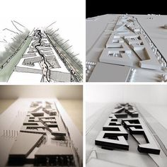 Urban Project model and drawings by porterarquitectos students Urbane Analyse, Urban Concept, Urban Design Plan, Urban Architecture, Concept Models Architecture, Masterplan Architecture, Drawing Architecture, Architecture Diagrams, Arch Model