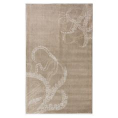Hand-tufted wool and art silk rug with a tentacle motif.  Product: RugConstruction Material: Wool and art silk
