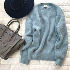 残りの冬、どうしてもこれが着たい。40代の心がトキめく、見たことのないきれい色 Articles, Pullover, My Style, Sweaters, Outfits, Shopping, Boho, Closet, Fashion
