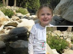 Dad Photoshops Ewoks into kids' hiking pictures from the Sequoia National Forrest