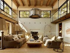 Mediterranean Living Room by Ken Linsteadt Architects Love this house !!!!! And would build it on the Chesapeake Bay