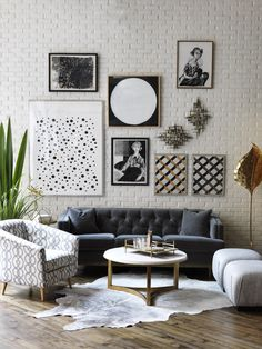 Black and White Living Room Ideas - most important place in our homes. Guests who are visiting our home will first observe the living room Living Room Inspiration, Interior Design Inspiration, Home Decor Inspiration, Design Ideas, Home Living Room, Living Room Designs, Living Roon, Black And White Living Room, Black White