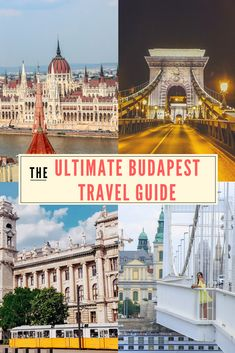 Plan your Europe vacay in Budapest, Hungary. 4 days itinerary for Budapest, things to do in Budapest, what and where to eat and sleep in Budapest. All inclusive travel guide for Budapest, Hungary.