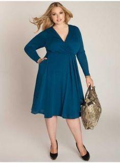 38f41ebeb23 Camille Plus Size Sweater Dress - Sale Rack by IGIGI Big Fashion