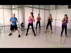 "VSX ""Train Like An Angel"": Challenge #3 - Runway Legs (Fall 2012)"