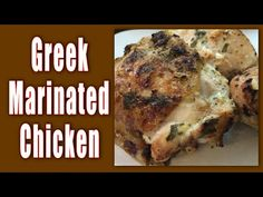 Greek Marinated Chicken Is A Taste Sensation | The WHOot