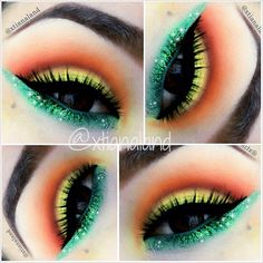 Bright eyes eye #eyes #makeup #eyeshadow #dramatic #bright #smoky #eye