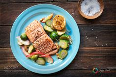 Pic: Salmon and Brussels Sprouts