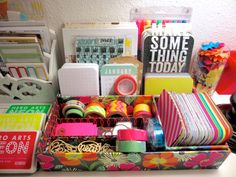 Inspiration: Creative Spoonful Project Life 2013 Neon + Graphic Workstation