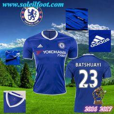 Maillot Du FC Chelsea (BATSHUAYI 23) Domicile 2016-2017 Pas Cheres
