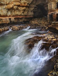 cave of the goat | Beneath Goats Bluff, South Arm, Tasmania.… | Andrew Wallace | Flickr