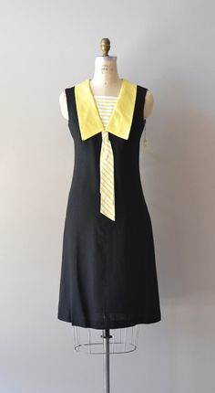 vintage 60s dress / mod 1960s dress / Girl Friday dress