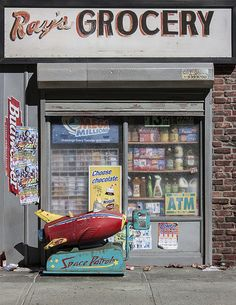 New York Storefront in miniature
