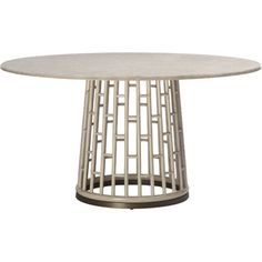 McGuire Furniture: Barbara Barry Fretwork Dining Table: 847gggggg