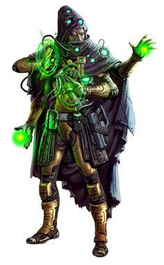 Kasatha Scholar Technomancer - Starfinder RPG (Core Rulebook Art)