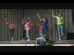 Evolution of Dance - Washington Elementary School teachers and principal perform during talent show!