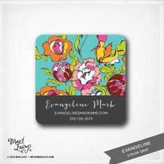 EVANGELINE  personalized Mommy / Business Cards / by MadLucyPaper, $18.50
