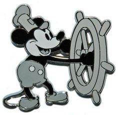 Disney Trading Pins Steamboat Willie